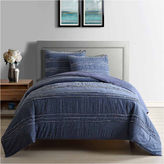 Asstd National Brand Frayed Chambray Quilt
