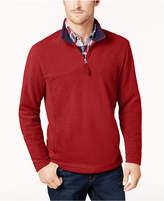 Club Room Men's Quarter-Zip Fleece Pullover, Created for Macy's