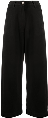 Henrik Vibskov Wide-Leg Organic Cotton Trousers