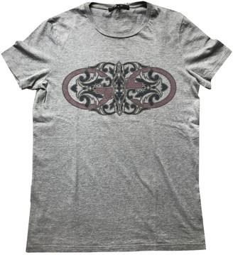 Gucci Grey Cotton T-shirts