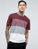 Jack and Jones Longline Cut and Sew T-Shirt