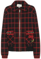 Gucci Checked wool jacket