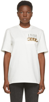 Alexander Wang White Lavish T-Shirt