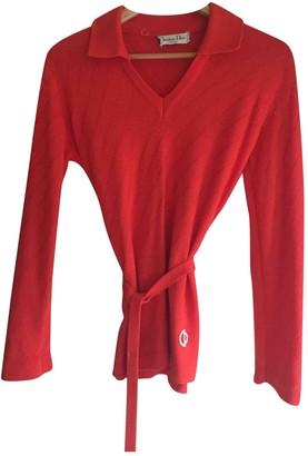 Christian Dior \N Orange Wool Knitwear for Women Vintage
