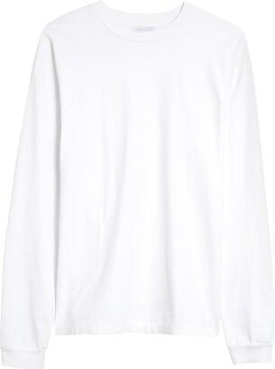 John Elliott White Long Sleeve T-Shirt