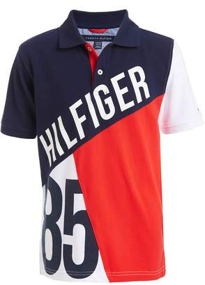 Tommy Hilfiger Tommy Little Boys 85 Colorblocked Pique Polo Shirt