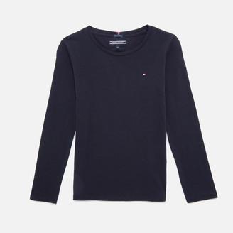 Tommy Hilfiger Girls' Long Sleeve T-Shirt