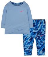 Nike Girls' Sports Essentials Tunic and Legging Set