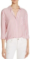 Rails Aly Garnet Stripe Shirt