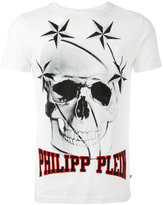 Philipp Plein skull printed T-shirt - men - Cotton/Polyurethane/Crystal - S