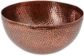 Southern Living Modern Metals Collection Antique Hammered Aluminum Serving Bowl