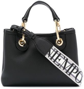 Emporio Armani Logo Strap Tote Bag