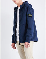 Stone Island Garment-dyed cotton jacket