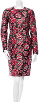 Lanvin 2015 Floral Patterned Sheath Dress
