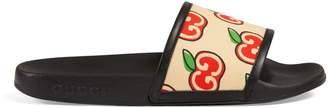 Gucci GG apple slide sandal