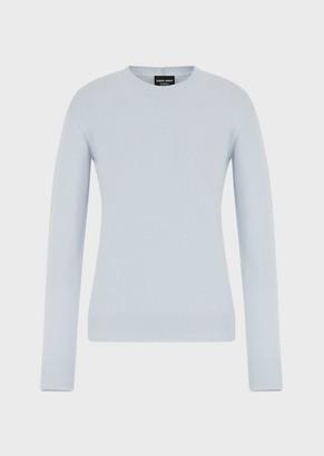 Giorgio Armani Pure Cashmere Crew-Neck Sweater