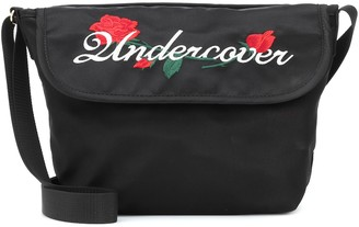 Undercover Embroidered satin shoulder bag