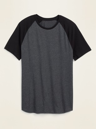 Old Navy Soft-Washed Color-Blocked Raglan Tee for Men