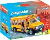 Playmobil School Bus Vehicle Building Kit