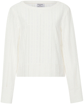 Frame Le Long Sleeved Lace Top