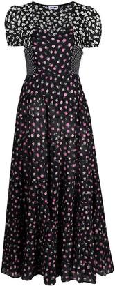 Rixo Tamara multi pattern dress