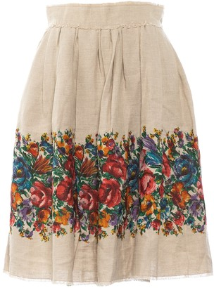 Dolce & Gabbana Beige Skirt for Women