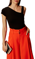 Karen Millen Asymmetric Collection Top, Black