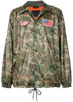 R 13 camouflage shirt jacket