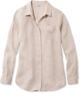 L.L. Bean Premium Washable Linen Shirt, Tunic