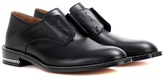 Givenchy Backless D Chain Leather Derby Shoes