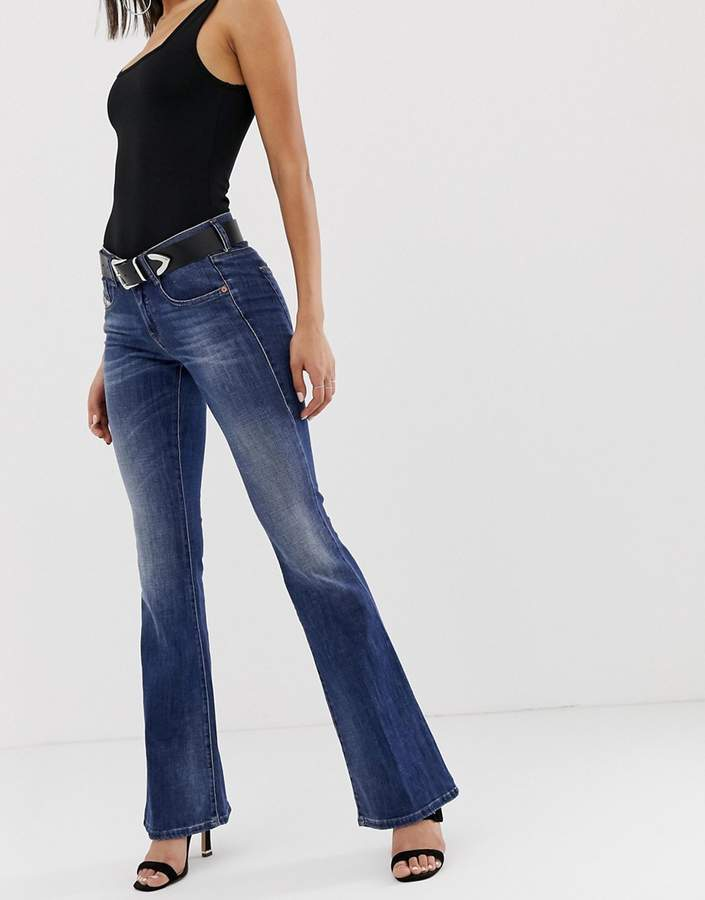 be42a498 Diesel Flared Jeans For Women - ShopStyle Canada