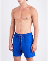 Calvin Klein Logo-print swim shorts