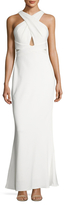 JS Collections Jersey Criss Cross Gown