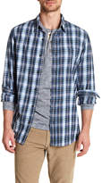 Joe Fresh Regular Fit Long Sleeve Flannel Dress Shirt