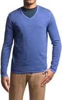 Barbour Rinsed Stripe Sweater - V-Neck (For Men)