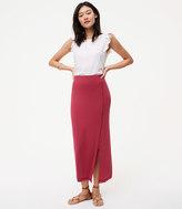 LOFT Petite Seamed Maxi Skirt