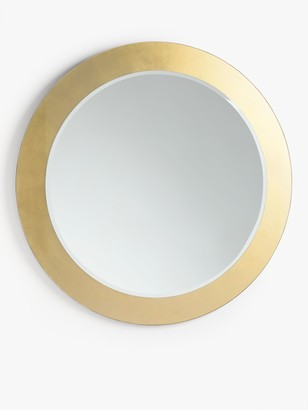 John Lewis & Partners Rok Layered Round Wall Mirror, Dia.100cm, Gold