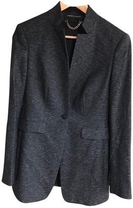 Porsche Design Anthracite Wool Jacket for Women