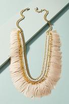 Deepa Gurnani Marnita Feather Bib Necklace