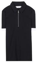 Victoria Beckham Denim Polo Shirt