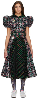 Chopova Lowena Multicolor Empire Waist Dress