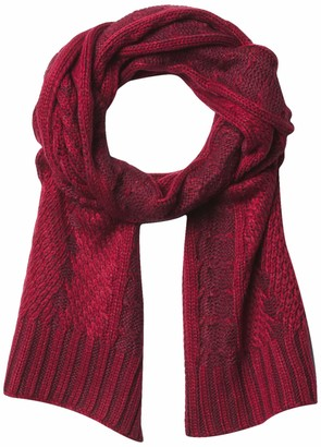 Timberland Plaited Cable Scarf