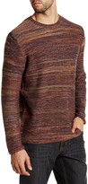 James Tattersall Marled Crew Neck Pullover Sweater