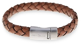 Jean Claude Braided Leather Bracelet