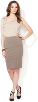 Les Copains Seamed Pencil Skirt