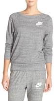Nike Women's 'Gym' Crewneck Sweatshirt