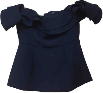 C/Meo Navy Polyester Tops