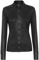 STOULS Garret leather blouse