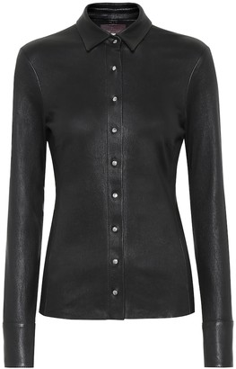 STOULS Garret leather blouse