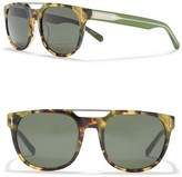 Dragon Optical Mix 52mm Rounded Browbar Sunglasses